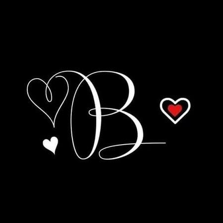 عکس پروفایل عاشقانه با حرف b