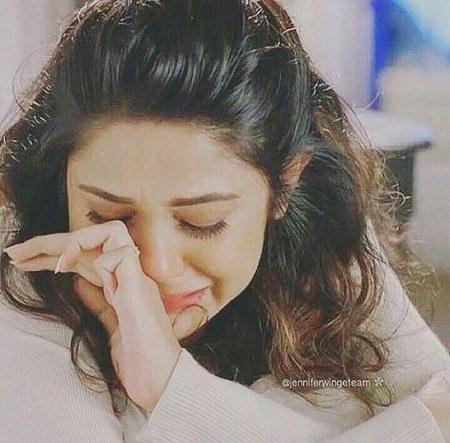 عکس دختر در حال گریه برای پروفایل دخترونه 1400