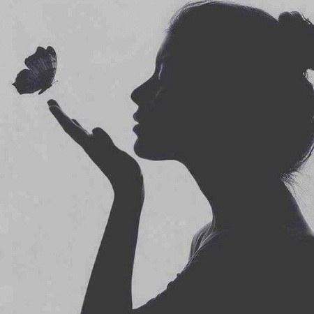 عکس پروفایل دخترونه 1400 سیاه و سفید