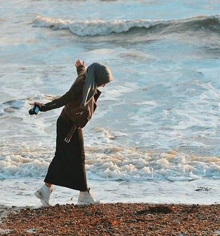 آلبوم عکس دخترونه خوشگل کنار دریا 1400 جدید