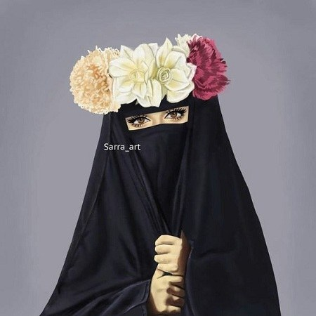 پروفایل فانتزی دخترانه با چادر