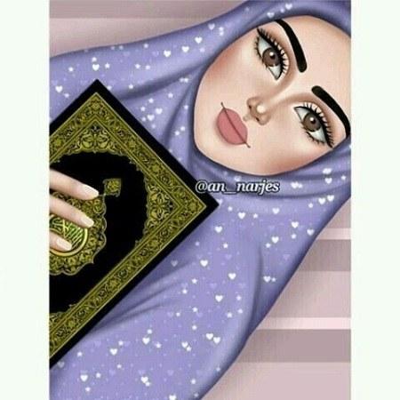 عکس پروفایل دخترونه عروسکی نماز خون و مومن