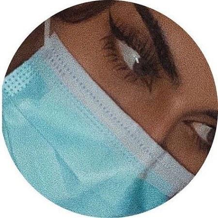 عکس دخترونه با ماسک برای پروفایل 2021 جدید