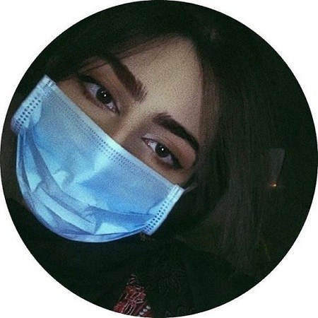 عکس پروفایل دخترانه با ماسک