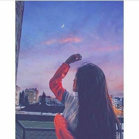 عکس دخترونه در تاریکی برای پروفایل