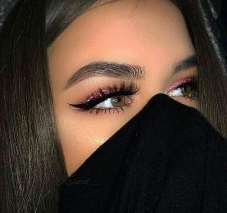 عکس دختر چشم عسلی برای پروفایل