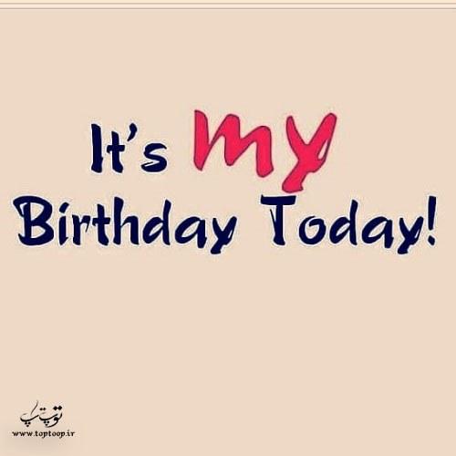 دلنوشته تولد خودم مبارک