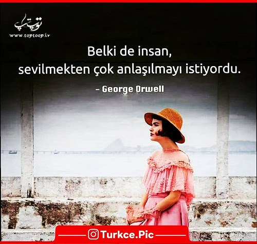 عکس نوشته ترکی استانبولی دخترونه