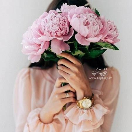 عکس پروفایل گل دخترونه