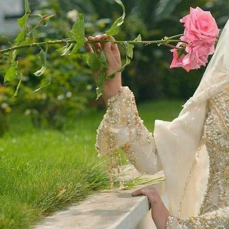 عکس پروفایل گل رز دخترونه
