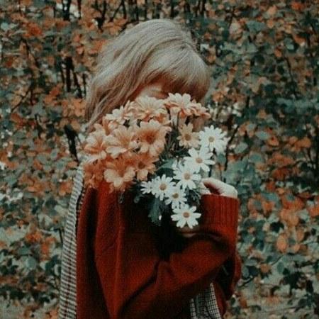 عکس پروفایل گل و دختر شیک و جذاب