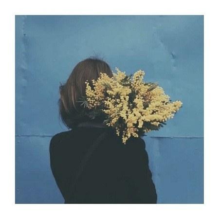 عکس دخترانه ی گل واسه پروفایل