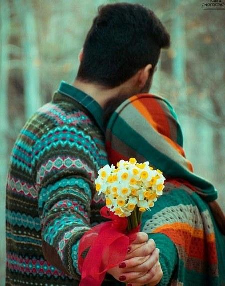 عکس پروفایل عاشقانه گل نرگس پسر دختر