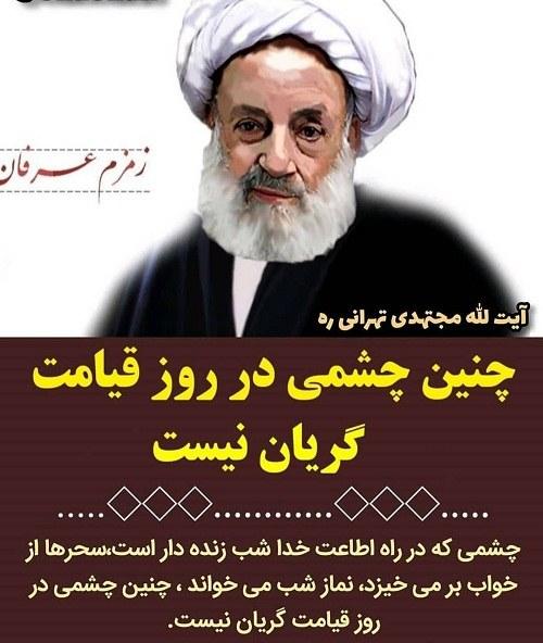 مجتهدی تهرانی ( چشم برزخی)