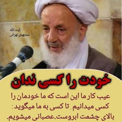 عکس های نوشته دار مجتهدی تهرانی