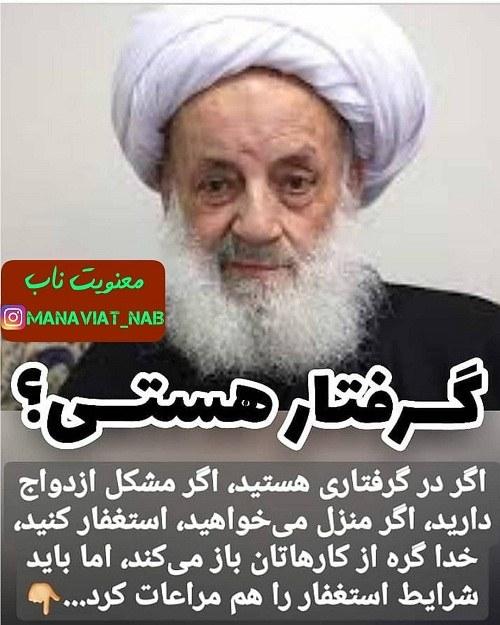 جملات تصویری مجتهدی تهرانی