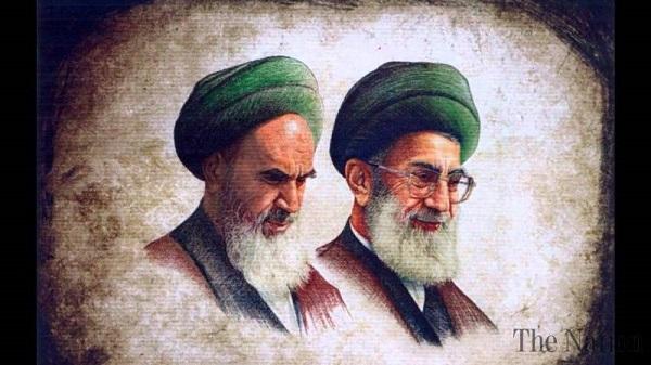 عکس امام و رهبری کنار هم