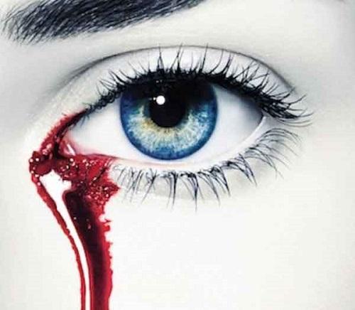 عکس های فانتزی از خون گریه کردن دختر برای پروفایل
